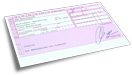 Online-Service Rezeptfomular